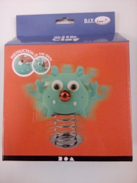 Silk Clay - Funny Friends - Large - grøn monster