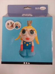Silk Clay - Funny Friends - Large - prinsesse