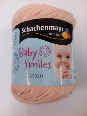 Baby Smiles bomuld - fersken