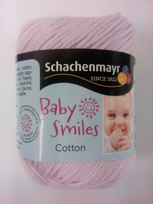 Baby Smiles bomuld - mauve