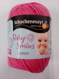 Baby Smiles bomuld - pink